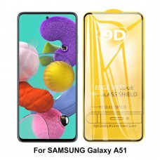 9D Tempered Glass Screen Protector For Samsung Galaxy A51