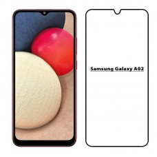 9D Tempered Glass Screen Protector For Samsung Galaxy A02
