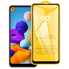 Samsung Galaxy A11 9D Tempered Glass Screen Protector