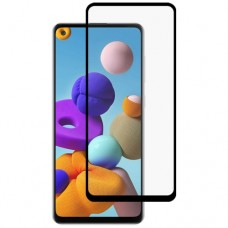 9D Tempered Glass Screen Protector For Samsung Galaxy A21s