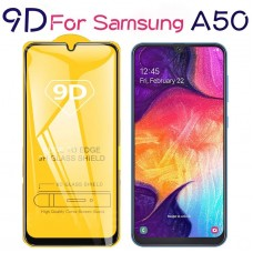 Samsung Galaxy A50 9D Tempered Glass Screen Protector