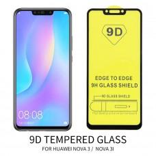 Huawei Nova 3 9D Tempered Glass Screen Protector